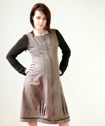 Для беременных платья сарафаны