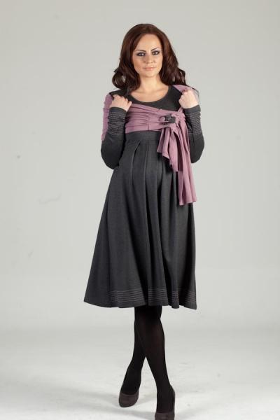 Платье для беременных с накидкой livaa